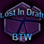 Lost in Draft BTW Logo