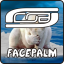 CoB Facepalm Logo