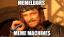 Memeldors Meme Machines. Logo