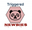 Triggered Newbies Logo