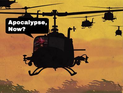 Apocalypse, Now? Logo
