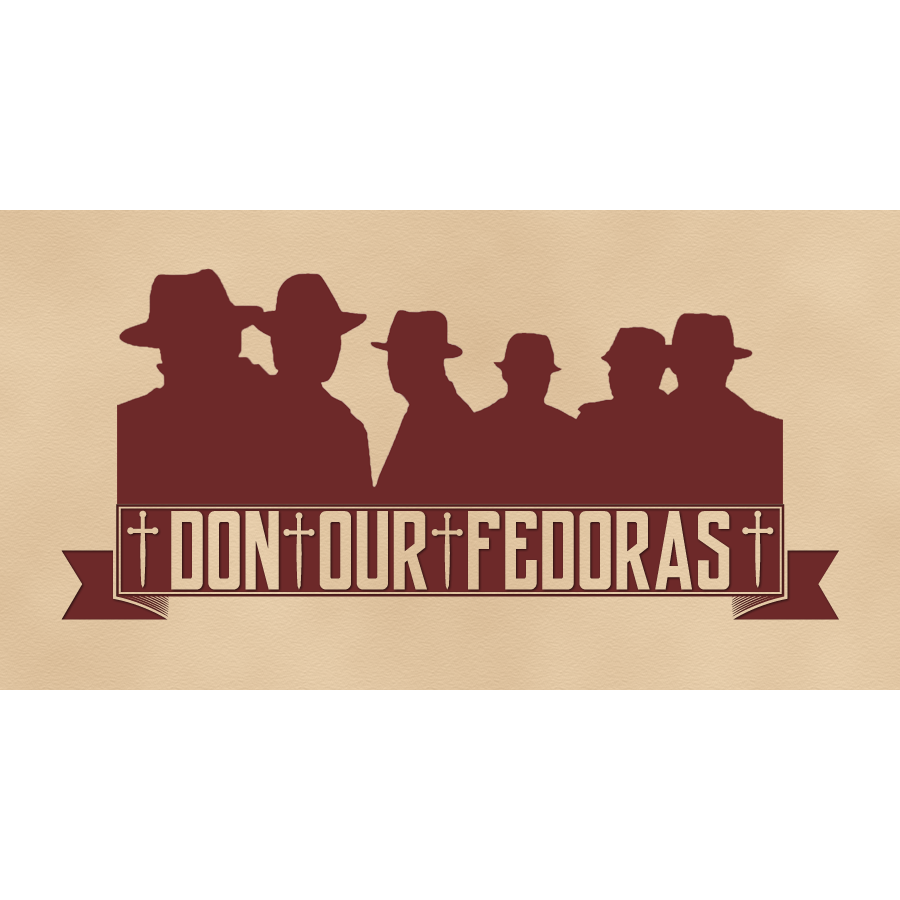 Don Our Fedoras Logo