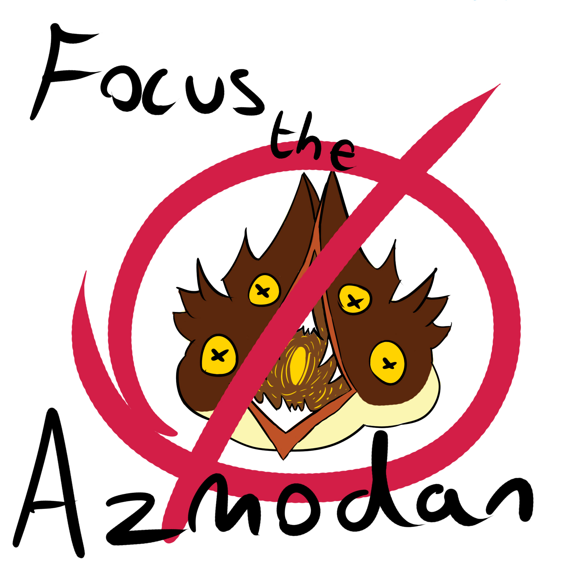 Focus the Azmodan
