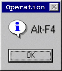 Operation AltF4