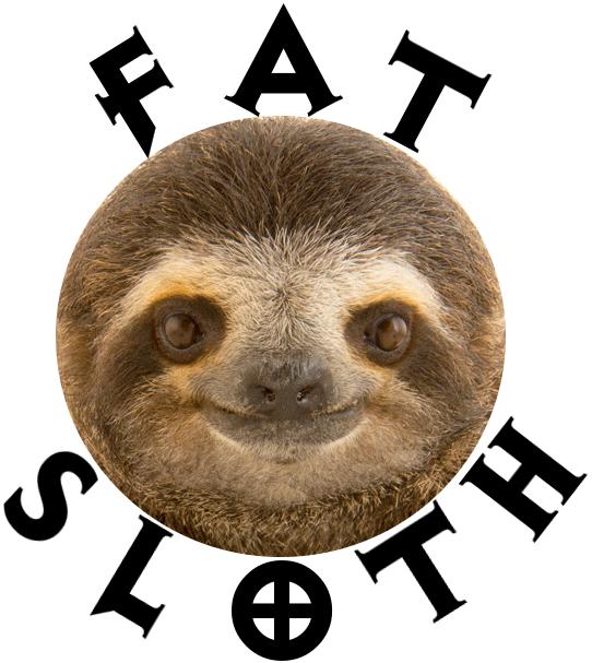 FAT Sloth Logo