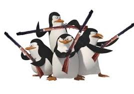 Deadly Penguin Squad Logo