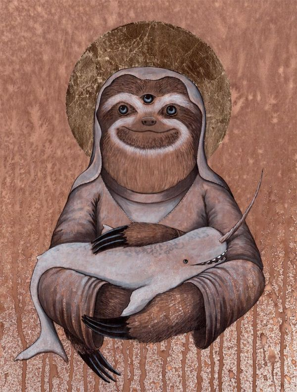 Sloth Sanctuary Logo