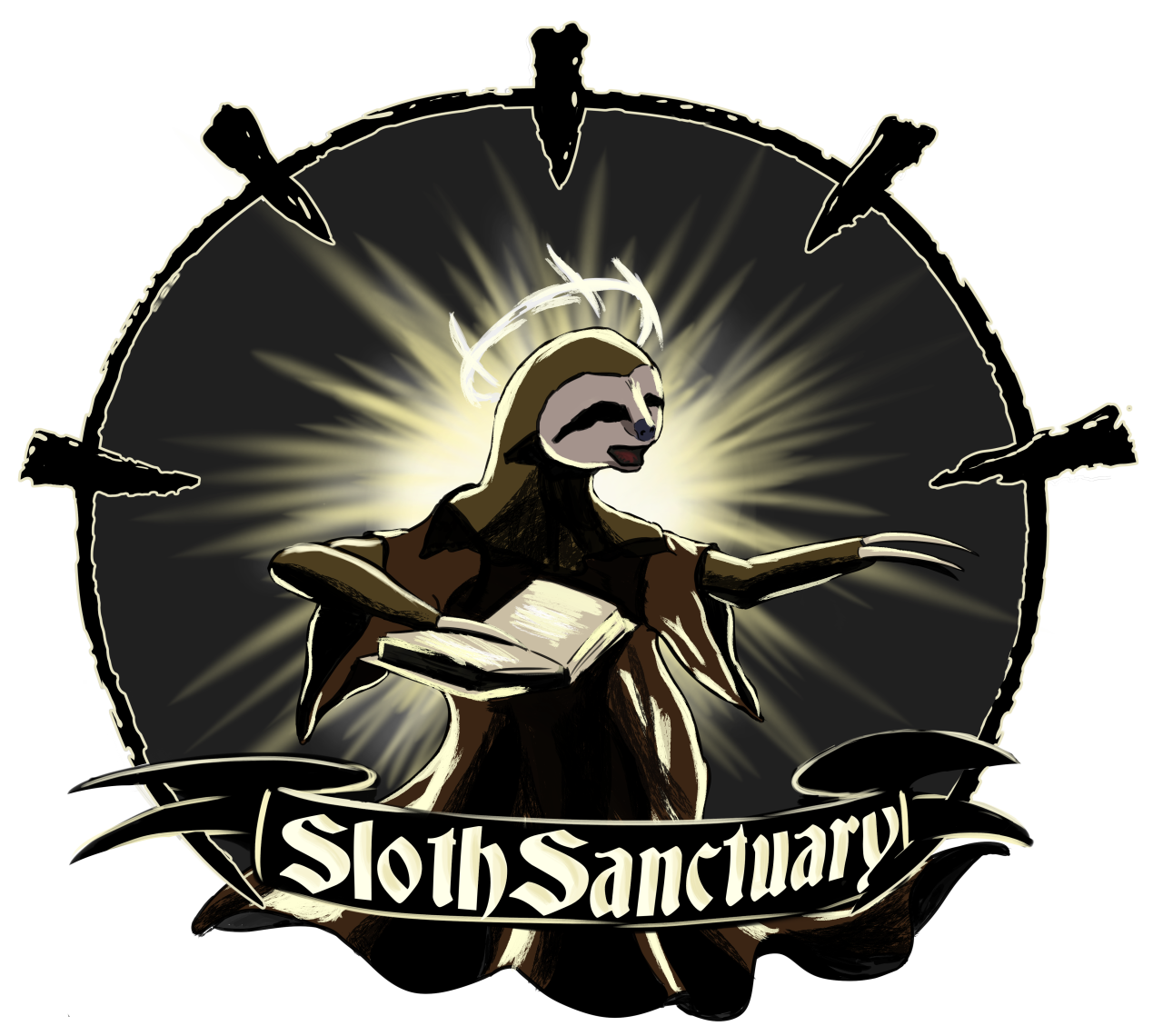 Sloth Sanctuary Logo