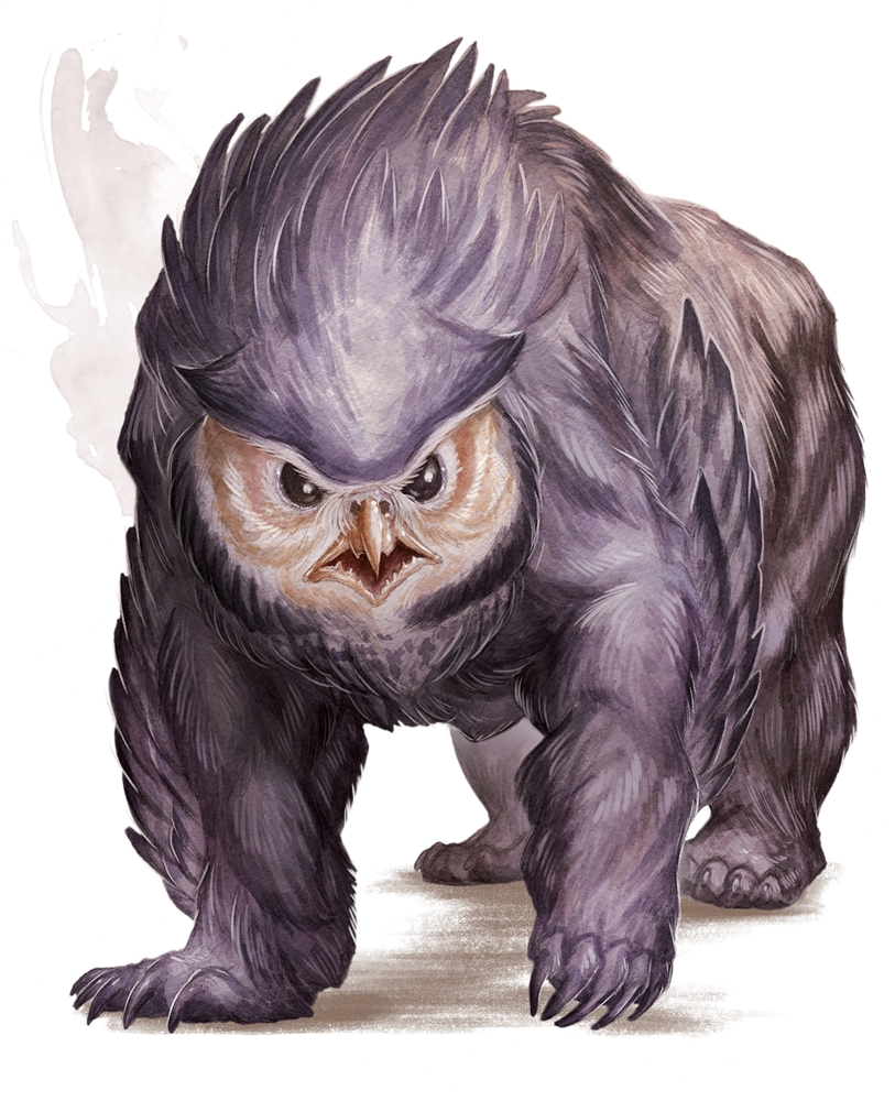 FAT Owlbear