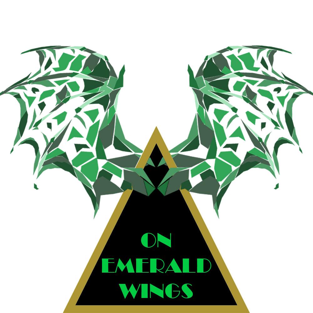 On Emerald Wings Logo
