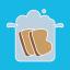I like my bread boiled not fried Logo