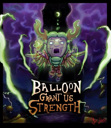 Balloon Grant Us Strength Logo