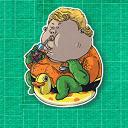 FAT Aquaman Logo