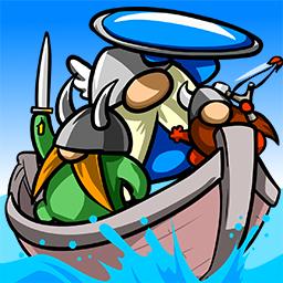 Vikings or Throw Logo