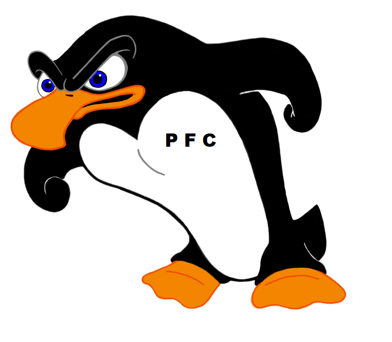 Penguin Fight Club Logo