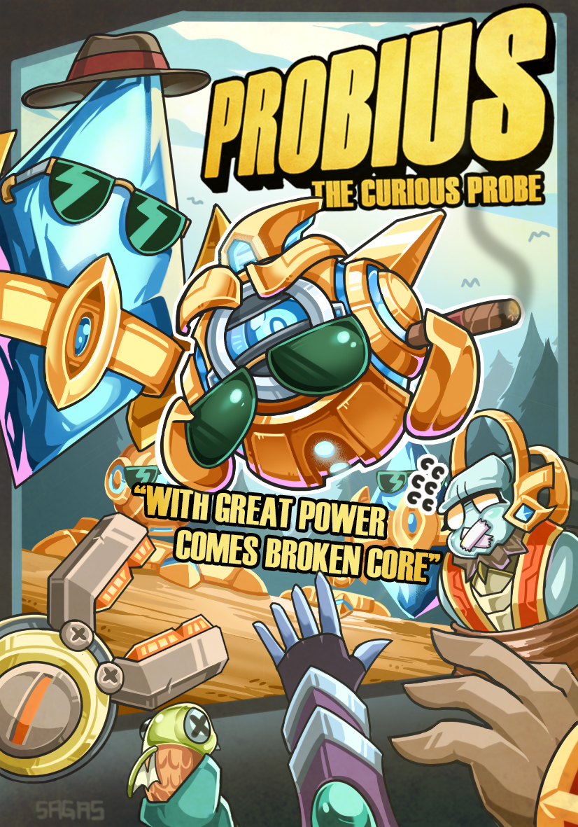 Probius and Friends Logo