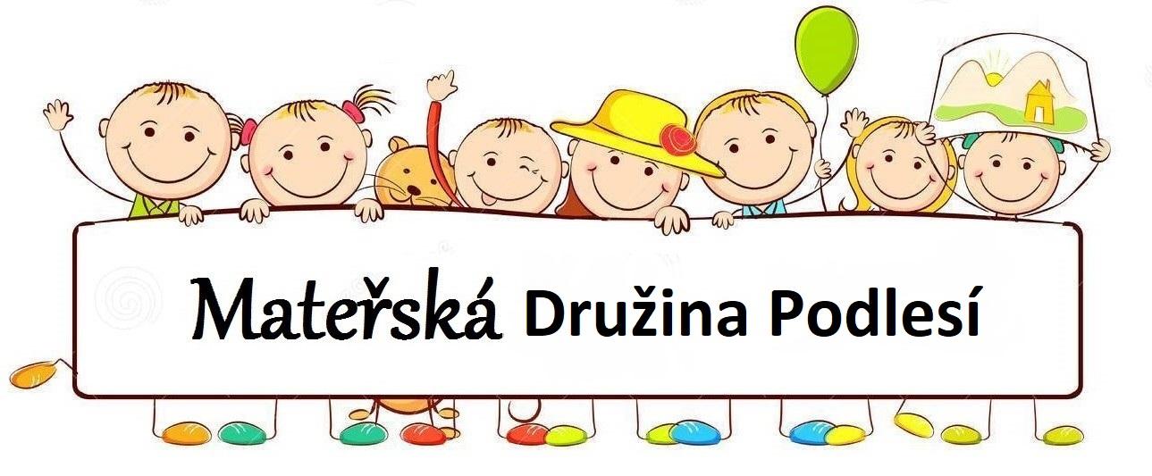 Družina MŠ Podlesí Logo