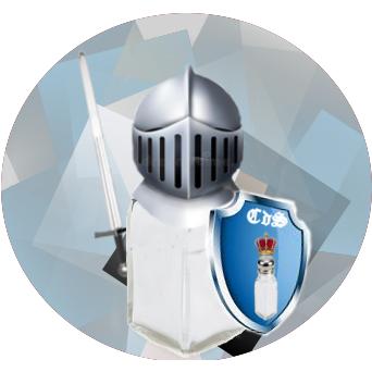 Les Chevaliers du Sel Logo
