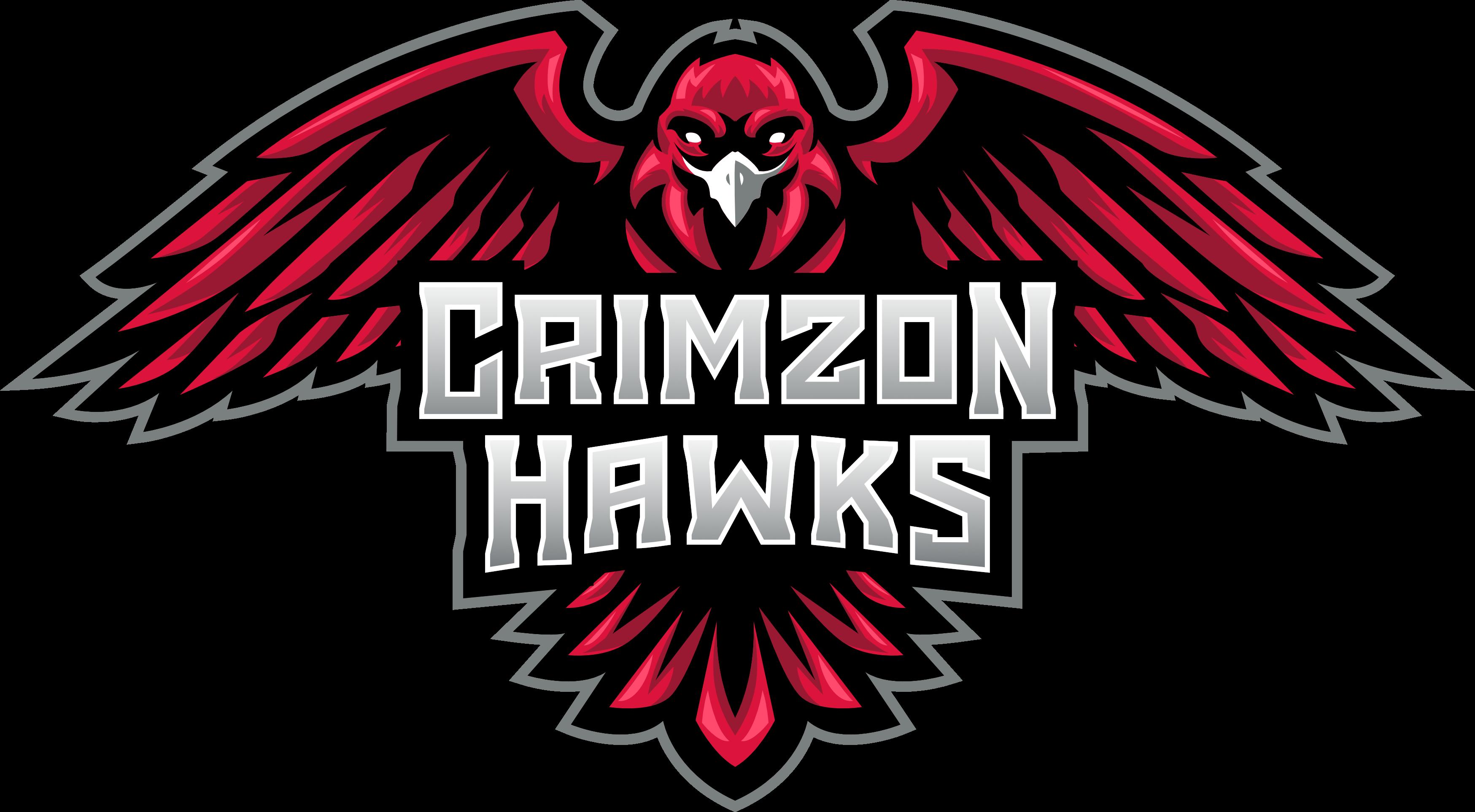 Crimzon Hawks Logo