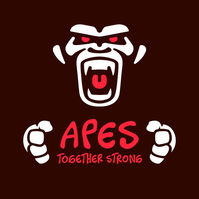Apes Together Strong Logo