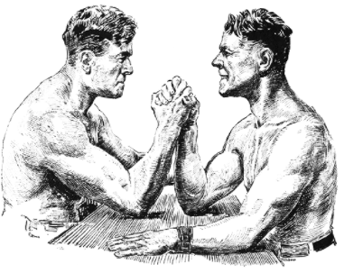 Armwrestlers Logo