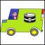 Sardiinis in a Van Logo