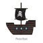 Pirate Boat Logo