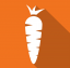 Small carrot can cast a big shadow Logo