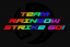 Team Rainbow Strike Go! Logo