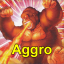 Aggro is our macro Logo