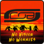 CoB - No Vision No Worries Logo