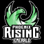Phoenix Rising Emerald Logo
