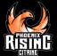 Phoenix Rising Citrine Logo
