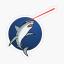 Lazer Sharks Logo