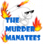 THE MURDER MANATEES Logo