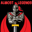 ALMOST LEGENDS Logo